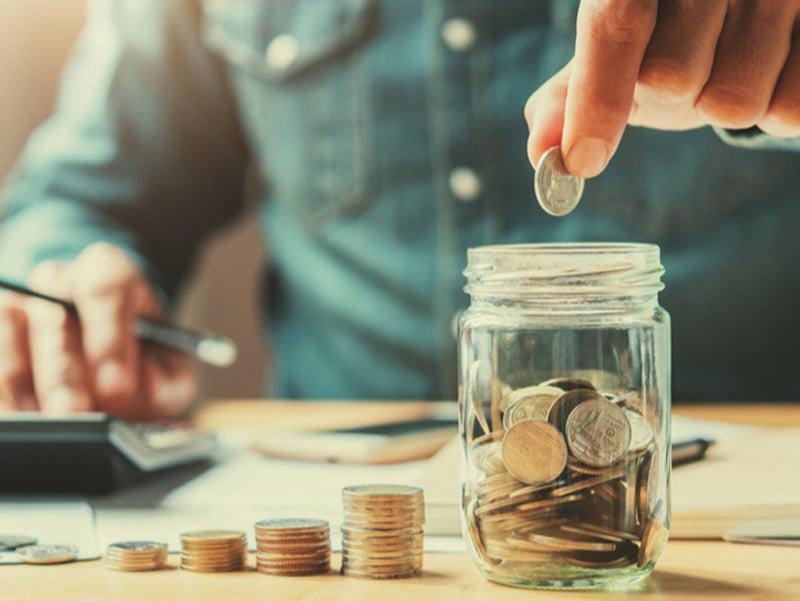 پول پس انداز کردن